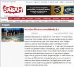 Sabah gazetesi mozaik haberi