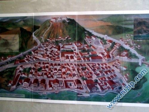 zeugma yerleşimin görüntüsü