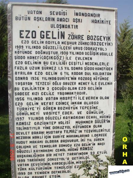 EZO GELİN