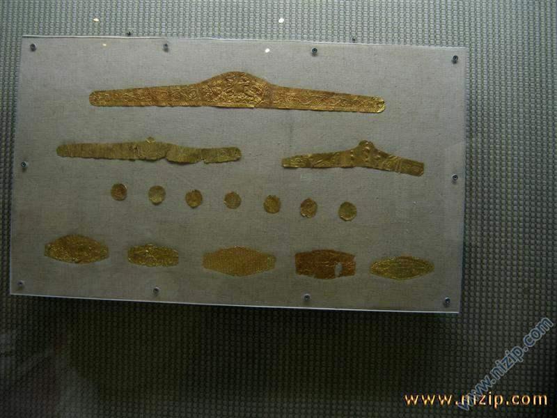 altın kemer ve sikkeler