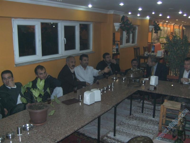 2008 yılı iftar gecesi İstanbul