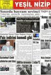 yeşil nizip gazetesi 1 sayfa