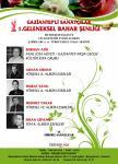 GAZİANTEP'Lİ SANATÇILAR  1.GELENEKSEL  BAHAR  ŞENLİĞİ
