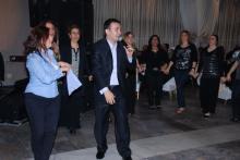 HANIM MİSAFİRLERİMİZ HALAY ÇEKİYOR / GAZİANTEP'Lİ SANATÇILAR 1.BAHAR ŞENLİĞİ