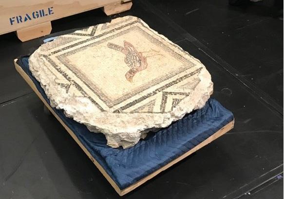 Zeugma Mozaiklerinin Kayıp Parçaları Getirildi...