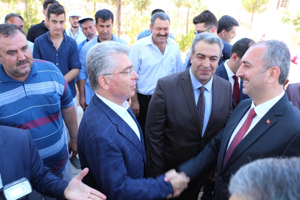 Adalet Bakanı İlçemizi Ziyaret Etti....