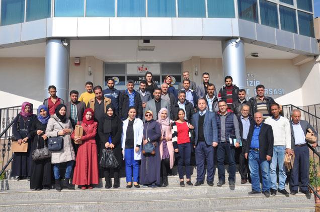 Suriyeli Kursiyerler Eğitimde Buluştu...
