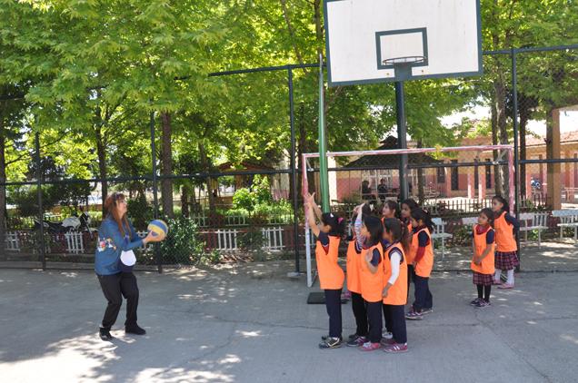 öğrenciler  Spor şenliği Nde Buluştu...