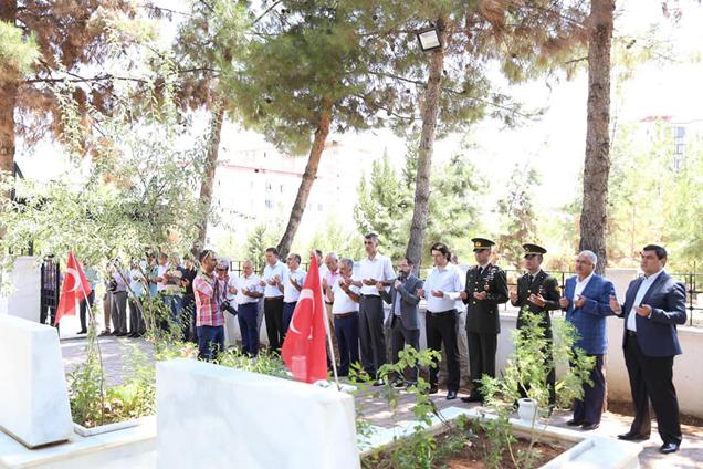 Nizip'de Onbeş Temmuz Nedeniyle şehitlik Ziyaret E...
