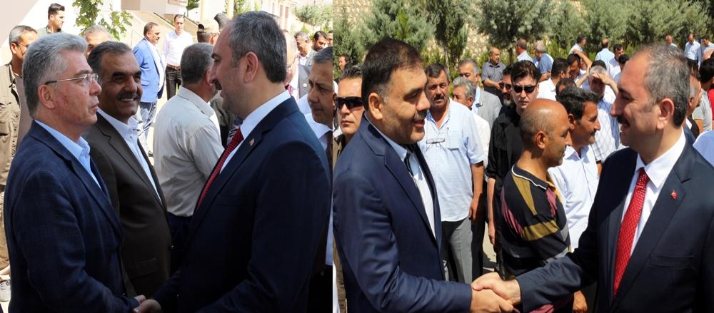 Adalet Bakanı Abdulahamit Gül Nizip'te  ...
