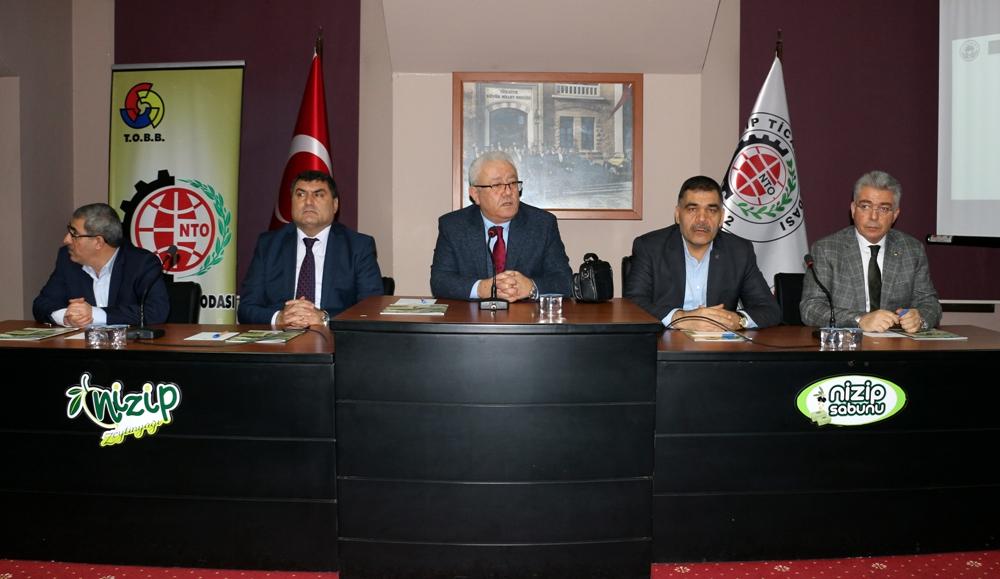 NTO'da Nizip Organize Sanayi Bölgesi Kura Çekimi Y...