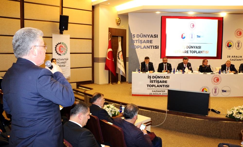 İş Dünyası İstişare Toplantısı'nda Nizip'in Sorunl...