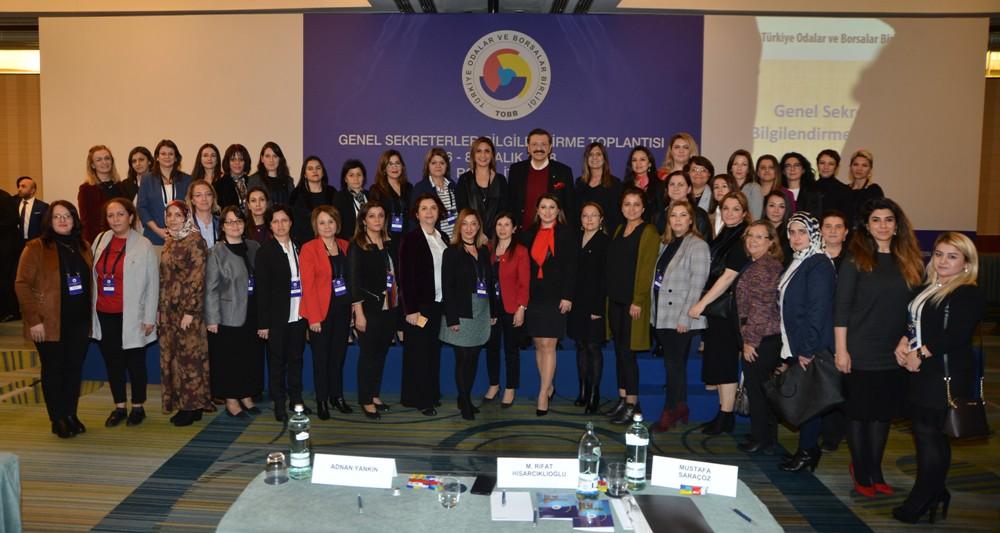 NTO Genel Sekreterler Bilgilendirme Toplantısı'nda...