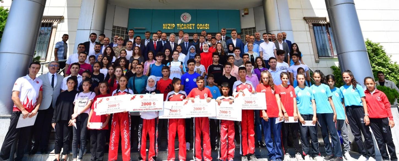Nizip Ticaret Odası Eğitim Başarı Ödülleri Projesi...