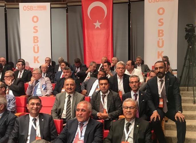 NTO Başkanı Özyurt OSBÜK'ün Olağan Genel Kurulunda...