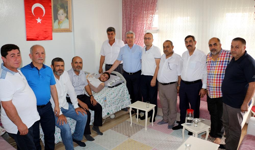 NTO'dan Suriye Gazisi Uzman Çavuş Samet Deniz'e Zi...