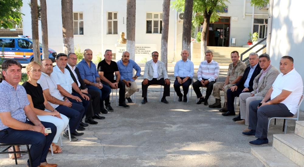 NTO' Dan Jandarma Komutanı Mehmet Diki'ye Ziyaret...