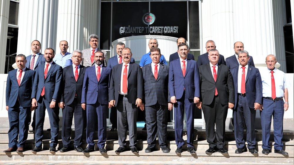 Gaziantep – Kilis İş Dünyasından Barış Pınarı Hare...