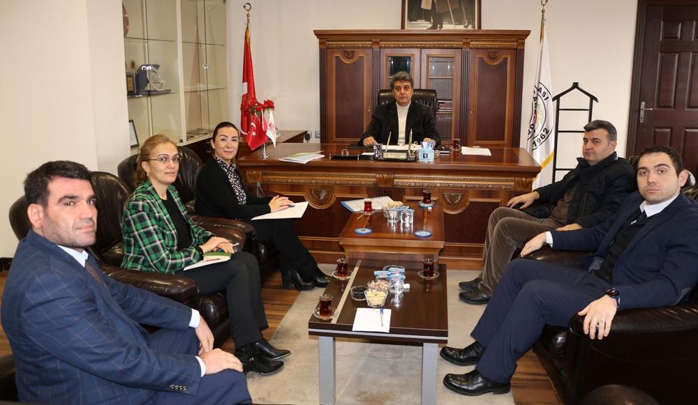 GTO'dan NTO Meclis Başkanı Karabacak'a Ziyaret...