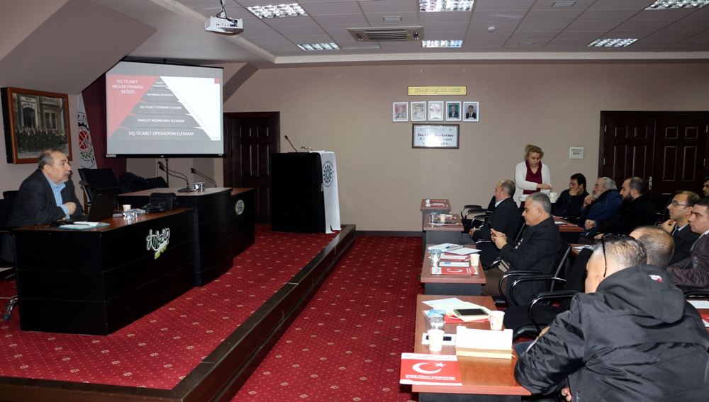 NTO'da Yeni Nesil Dış Ticaret İstihbarat Eğitimi B...