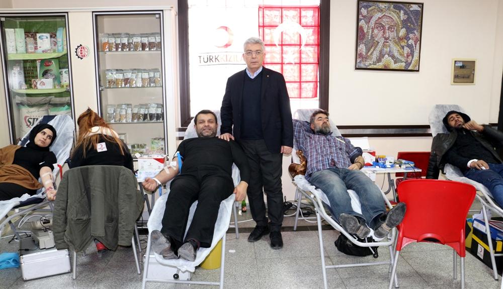 NTO'da Kan Bağışı Kampanyası Yoğun İlgi Gördü...