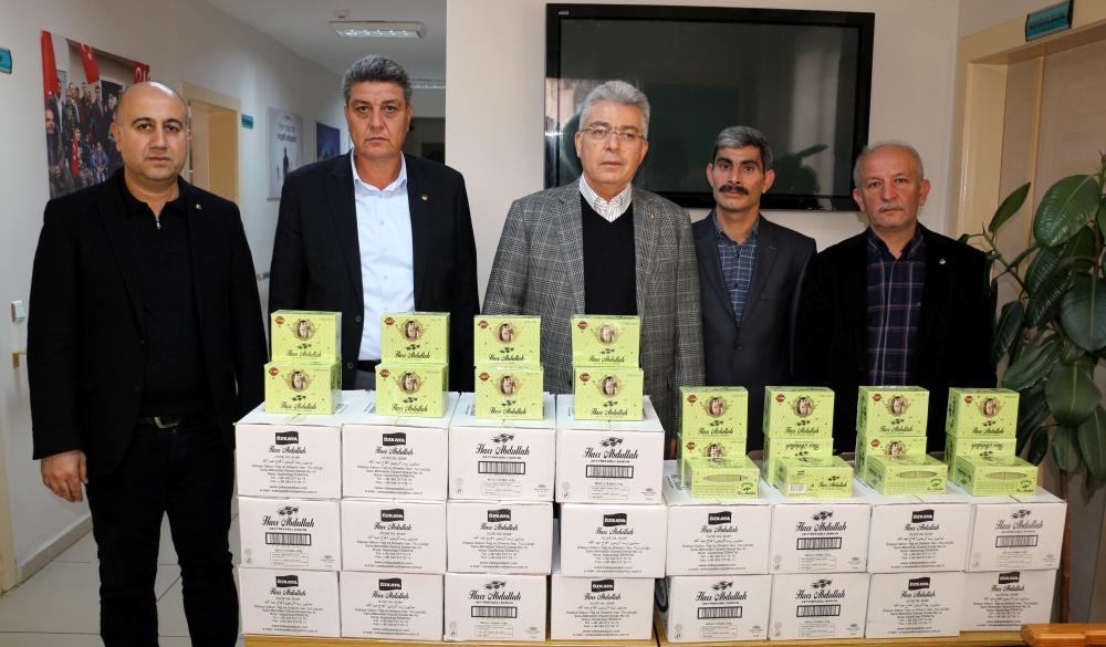 NTO'dan Dezavantajlı Vatandaşlara Nizip Sabunu...