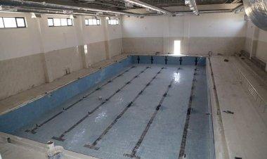 Yüzme Havuzu'nda çalışmalar Sona Yaklaştı...