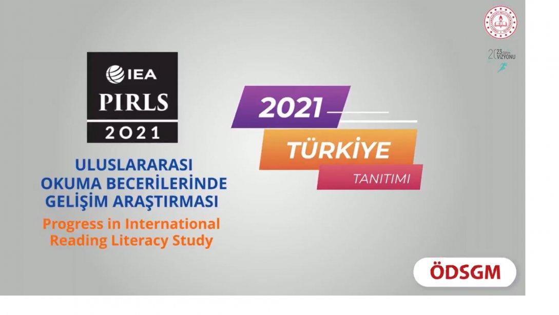 """""""Uluslararası Okuma Becerileride Gelişim Araş..."""