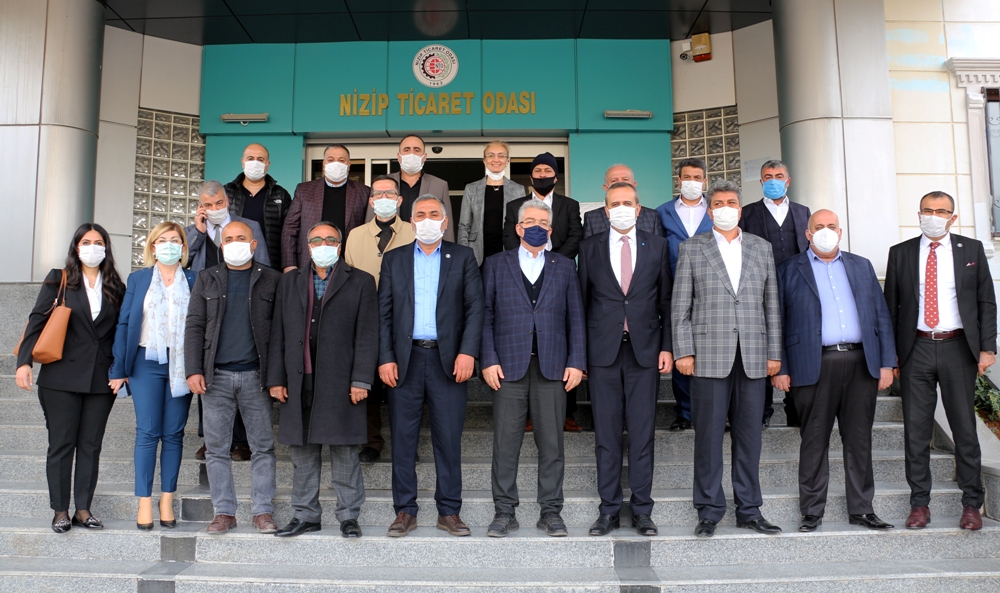 DEVA Partisi Gaziantep Heyetinden NTO'ya Ziyaret...