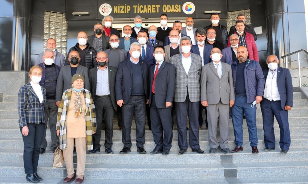 İYİ Parti Heyetinden Nizip Ticaret Odası'na Ziyare...