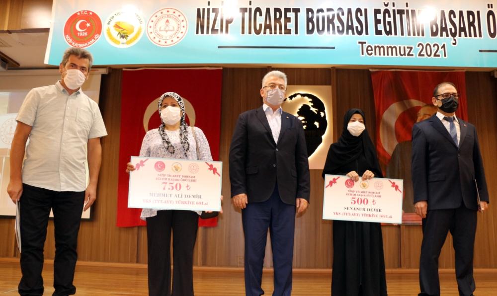 NTO Başkanı Özyurt Eğitim Başarı Ödülleri Törenine...