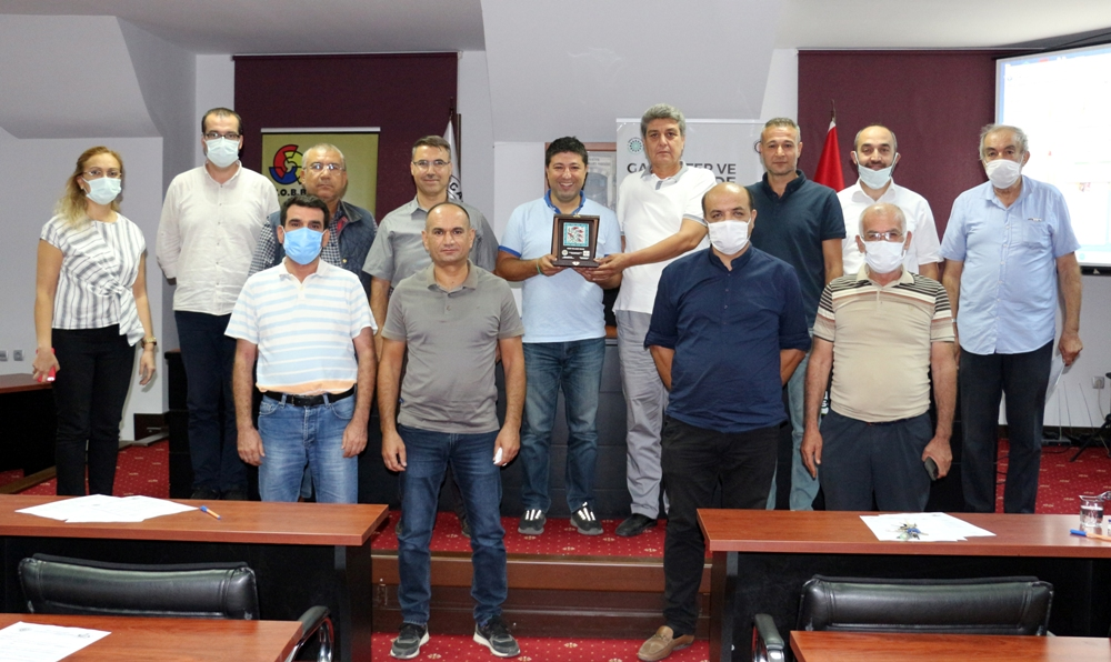 NTO' Da Zeytin Sektörü Eğitimleri Düzenlendi...
