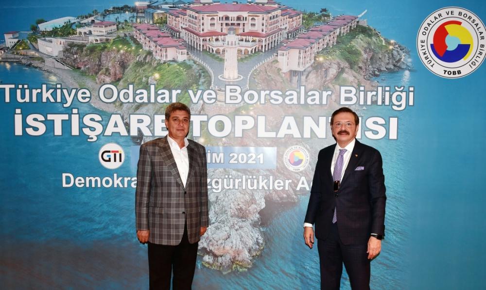 NTO Meclis Başkanı Bekir Karabacak TOBB İstişare T...