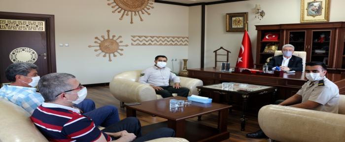 Nizip Askerlik Şubesi Başkanı Asteğmen Çetin'den NTO'ya Ziyaret
