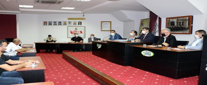 Nizip Organize Sanayi Bölgesi'nin İhaleleri NTO'da Yapıldı