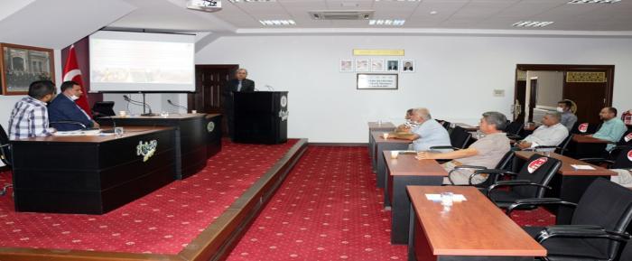 Zeytin Ve Zeytinyağı Sektörü Temsilcileri NTO'da Toplandı