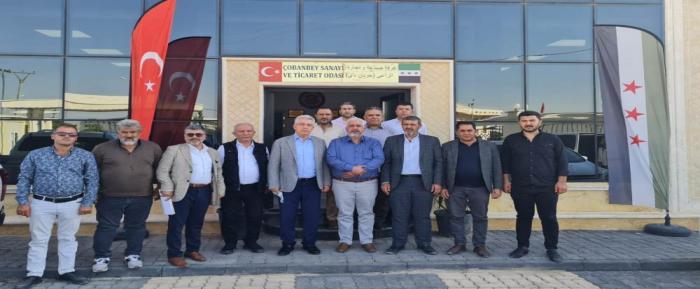 Nizip Ticaret Odası Suriye'de Bir İlke İmza Attı
