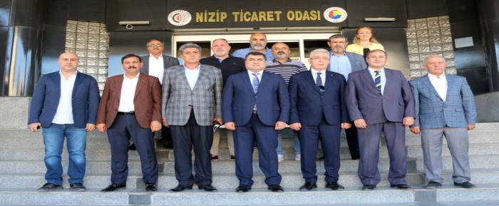Nizip Kaymakamı Kemal Şahin'den NTO'ya Veda Ziyareti